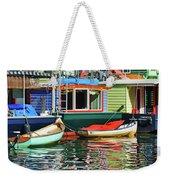 Houseboats 4 - Lake Union - Seattle Weekender Tote Bag