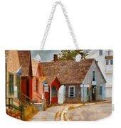 Houses - Maritime Village  Weekender Tote Bag