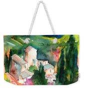 Houses In Montepulciano In Tuscany 01 Weekender Tote Bag
