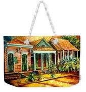 Houses In The Marigny Weekender Tote Bag