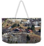 Houses On The Mountains Weekender Tote Bag