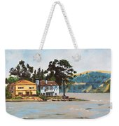 Houses Next To Water Weekender Tote Bag