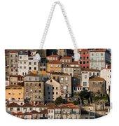 Houses Of Porto In Portugal Weekender Tote Bag