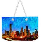 Houston Skyline 110 - Pa Weekender Tote Bag