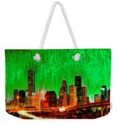 Houston Skyline 115 - Pa Weekender Tote Bag