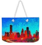 Houston Skyline 131 - Pa Weekender Tote Bag