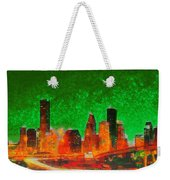Houston Skyline 133 - Pa Weekender Tote Bag