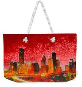 Houston Skyline 134 - Pa Weekender Tote Bag
