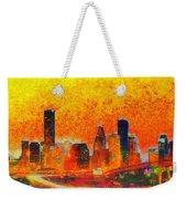 Houston Skyline 135 - Pa Weekender Tote Bag