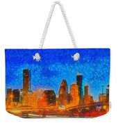 Houston Skyline 40 - Pa Weekender Tote Bag