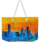 Houston Skyline 41 - Pa Weekender Tote Bag
