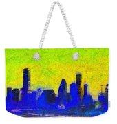 Houston Skyline 42 - Pa Weekender Tote Bag