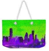 Houston Skyline 43 - Pa Weekender Tote Bag