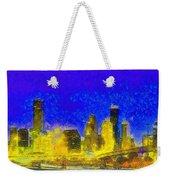 Houston Skyline 45 - Pa Weekender Tote Bag