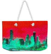 Houston Skyline 47 - Pa Weekender Tote Bag