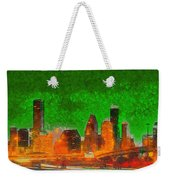 Houston Skyline 48 - Pa Weekender Tote Bag