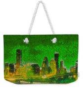 Houston Skyline 49 - Pa Weekender Tote Bag