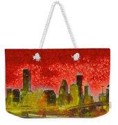 Houston Skyline 50 - Pa Weekender Tote Bag