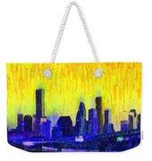 Houston Skyline 83 - Pa Weekender Tote Bag