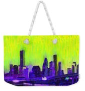 Houston Skyline 84 - Pa Weekender Tote Bag