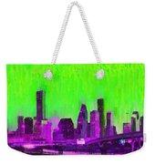 Houston Skyline 85 - Pa Weekender Tote Bag