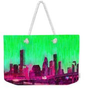 Houston Skyline 86 - Pa Weekender Tote Bag