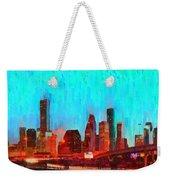 Houston Skyline 87 - Pa Weekender Tote Bag
