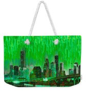 Houston Skyline 96 - Pa Weekender Tote Bag