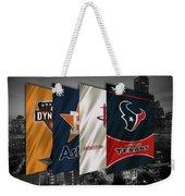 Houston Sports Teams 2 Weekender Tote Bag