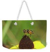 Hoverfly On Brown Eyed Susan Weekender Tote Bag