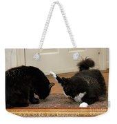 How Cat Fights Start Weekender Tote Bag