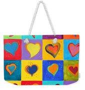 How Do I Love You Weekender Tote Bag