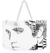 How Great Thou Art Elvis Wordart Weekender Tote Bag