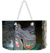 How Much Are Those Shoes In The Window Weekender Tote Bag