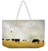How Now Black Cow Weekender Tote Bag