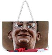 Howdy Folks - Big Tex Portrait 02 Weekender Tote Bag