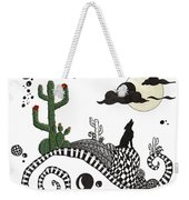 An Evening In The Desert Weekender Tote Bag