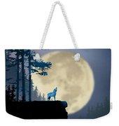Howling Coyote Weekender Tote Bag