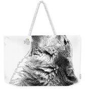 Howling Timber Wolf Weekender Tote Bag