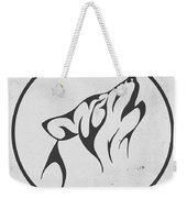 Howling Wolf Art - Fool Moon Wolf Lovers Prints Weekender Tote Bag