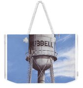 Hubbell Water Tower Poster Weekender Tote Bag