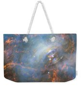 Hubble Captures The Beating Heart Of The Crab Nebula Weekender Tote Bag