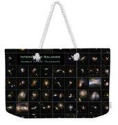 Hubble Galaxy Poster Weekender Tote Bag