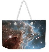 Hubble's 24th Birthday Snap Of Monkey Head Nebula Weekender Tote Bag