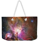 Hubble's Sharpest View Of The Orion Nebula Weekender Tote Bag by Adam Romanowicz