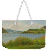 Hudson From Cold Spring Weekender Tote Bag
