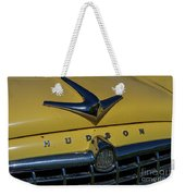 Hudson Hood Ornament And Logo Weekender Tote Bag