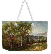 Hudson River At Croton Point Weekender Tote Bag