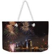 Hudson River Fireworks Iv Weekender Tote Bag