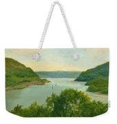 Hudson River From Bear Mt. Weekender Tote Bag